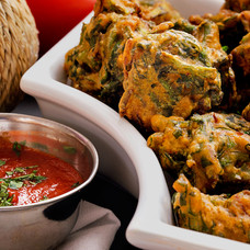 Spinach Fritters - Shak Bora