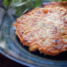 Spicy Potato Pancake
