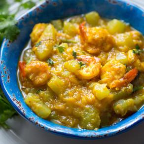 Squash with Shrimp / Lau chingri