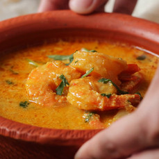 Shrimp Malai Curry