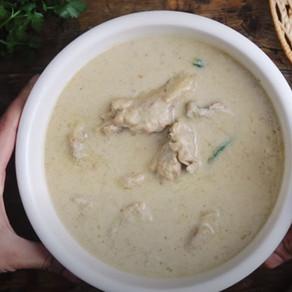 Creamy White Chicken Soup