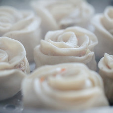 Rose Momo | Steamed Chicken Dumplings