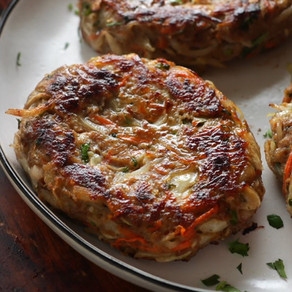 Shredded Cabbage And Carrot Meatballs Kabab Recipe