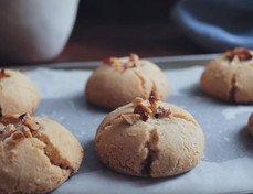 Nankhatai Eggless Cookies