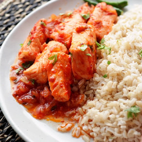 Healthy And Tasty Salmon Fish Curry