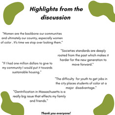 Discussion Highlights!