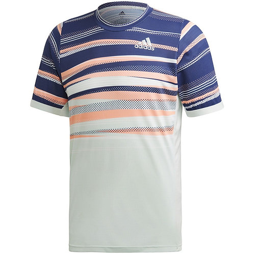 HOMMES TENNIS T-SHIRT FREELIFT HEAT.RDY