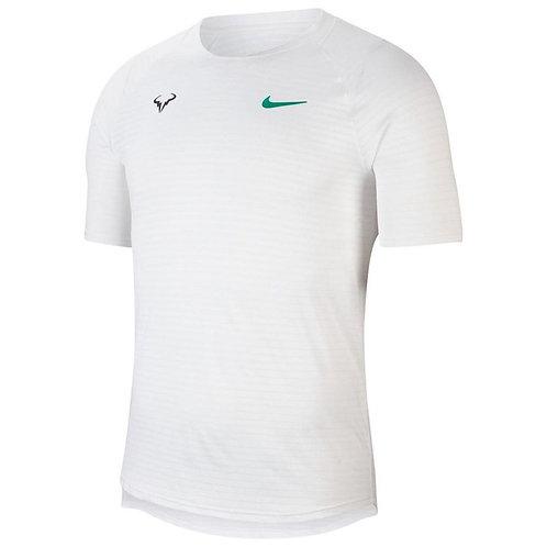 T-shirts Nike Court Aeroreact Rafa Slam S White