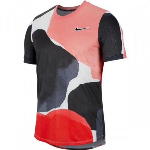 T-shirt Hommes - Gris Foncé, Écru