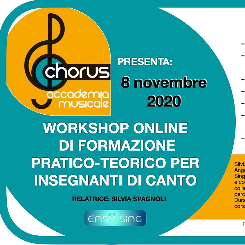 Workshop di formazione pratico-teorica per insegnanti di canto