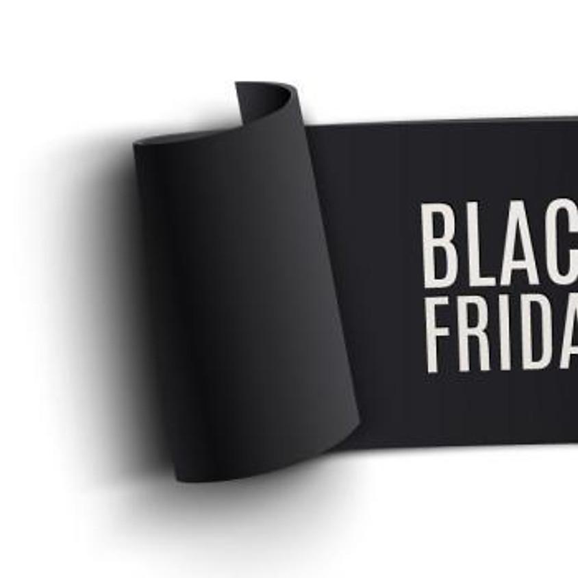 BLACK FRIDAY!!! Lezioni al 50%!!