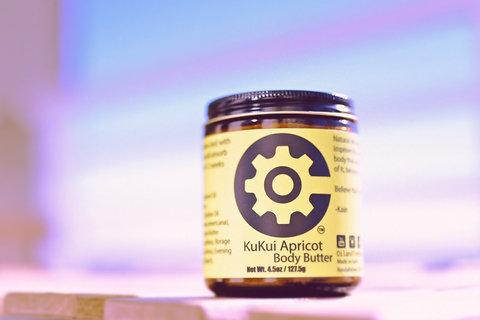 KuKui Apricot Body Butter