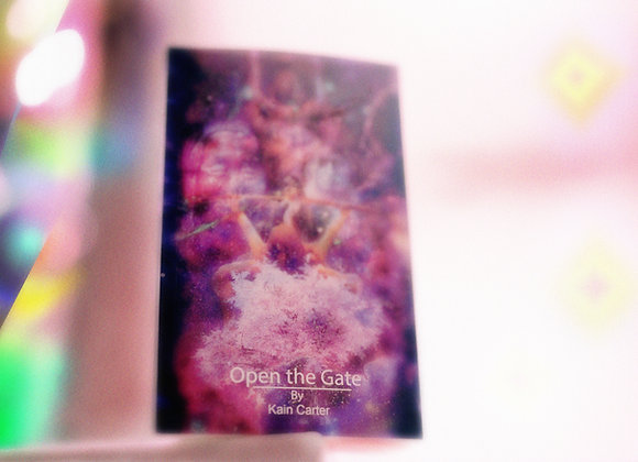 Open The Gate Soft Cover Book