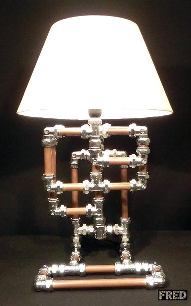 Accordion Lamp, Lux Vortex, Light Art, Sculpture, Chandelier, Lighting