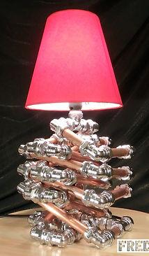 Gordian Lamp, Lux Vortex, Light Art, Sculpture, Chandelier, Lighting