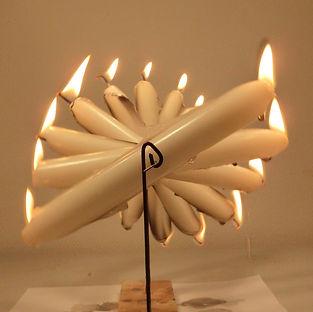 Candelabra, Lux Vortex, Light Art, Sculpture, Chandelier, Lighting
