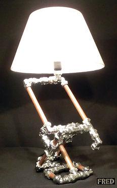 Hinged Lamp, Lux Vortex, Light Art, Sculpture, Chandelier, Lighting