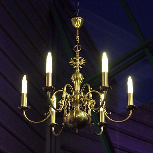 6 Light Vintage Chandeliers
