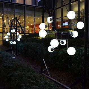 Maarten & Yara's Wedding, Lux Vortex, Light Art, Sculpture, Chandelier, Lighting