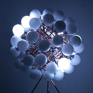 Go Gallery 2015, Lux Vortex, Light Art, Sculpture, Chandelier, Lighting