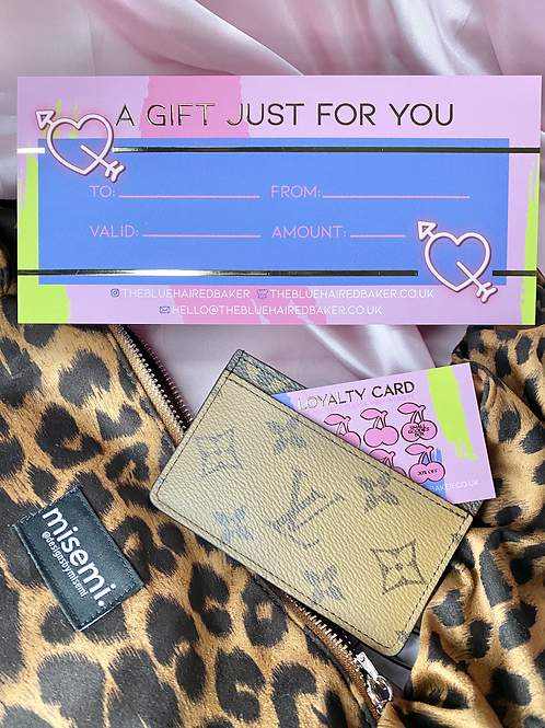 Gift Voucher Customise