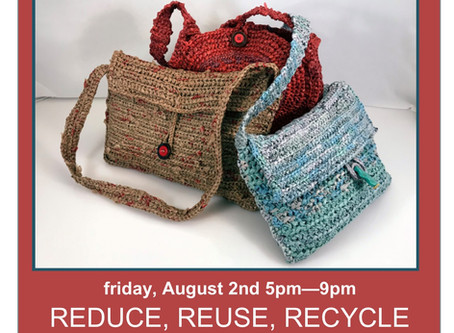 Reduce, Reuse, Recycle  |  AUG 2019