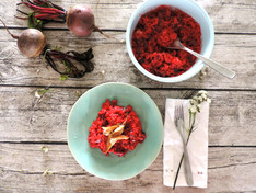 Beetroot & Vodka Risotto