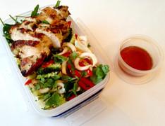 Lunch Al Desko: Thai Chicken with Celeriac Zoodles