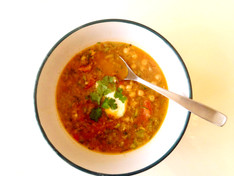Spiced Chickpea Soup