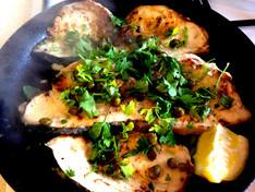 Sicilian Swordfish & Red Pesto Roasted Veg