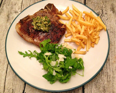 Veal Chop with Chimichurri