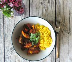 Chicken & Okra Curry