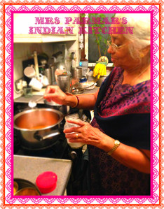 Mrs Parmar's Indian Kitchen: Dhal Soup and Cluster Bean Masala