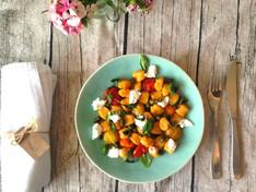 Pumpkin Gnocchi, Confit Tomato & Sauce Vierge