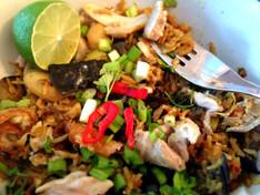 Hell's Kitchen: Thai Aubergine & Chicken Curry