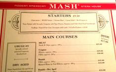 MASH: Modern American Steak House, Soho