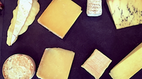 Cheese class at Neal's Yard