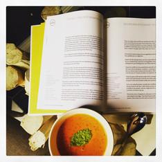 Anna Jones' Tomato, Miso & Sesame Soup