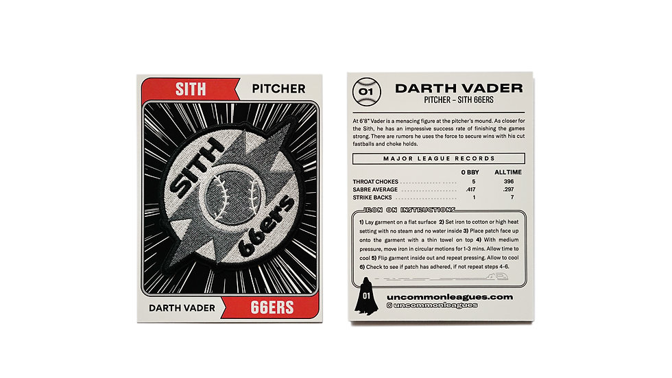Iron on Sith 66ers
