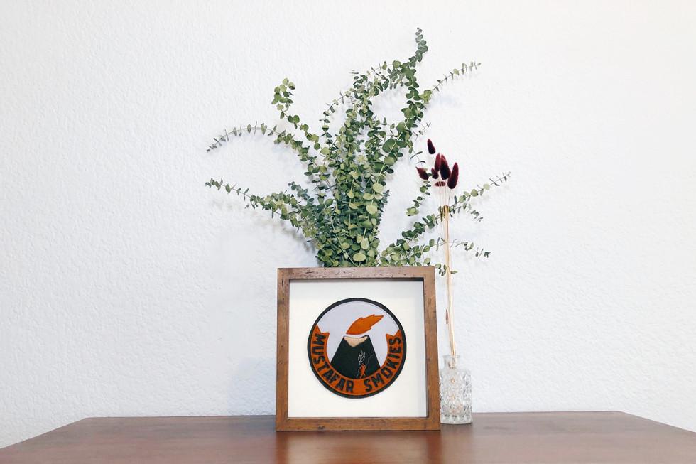 Mustafar Smokies, framed