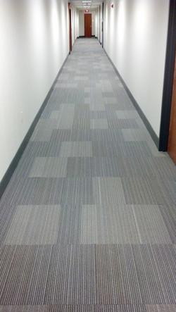 Commercial carpet project