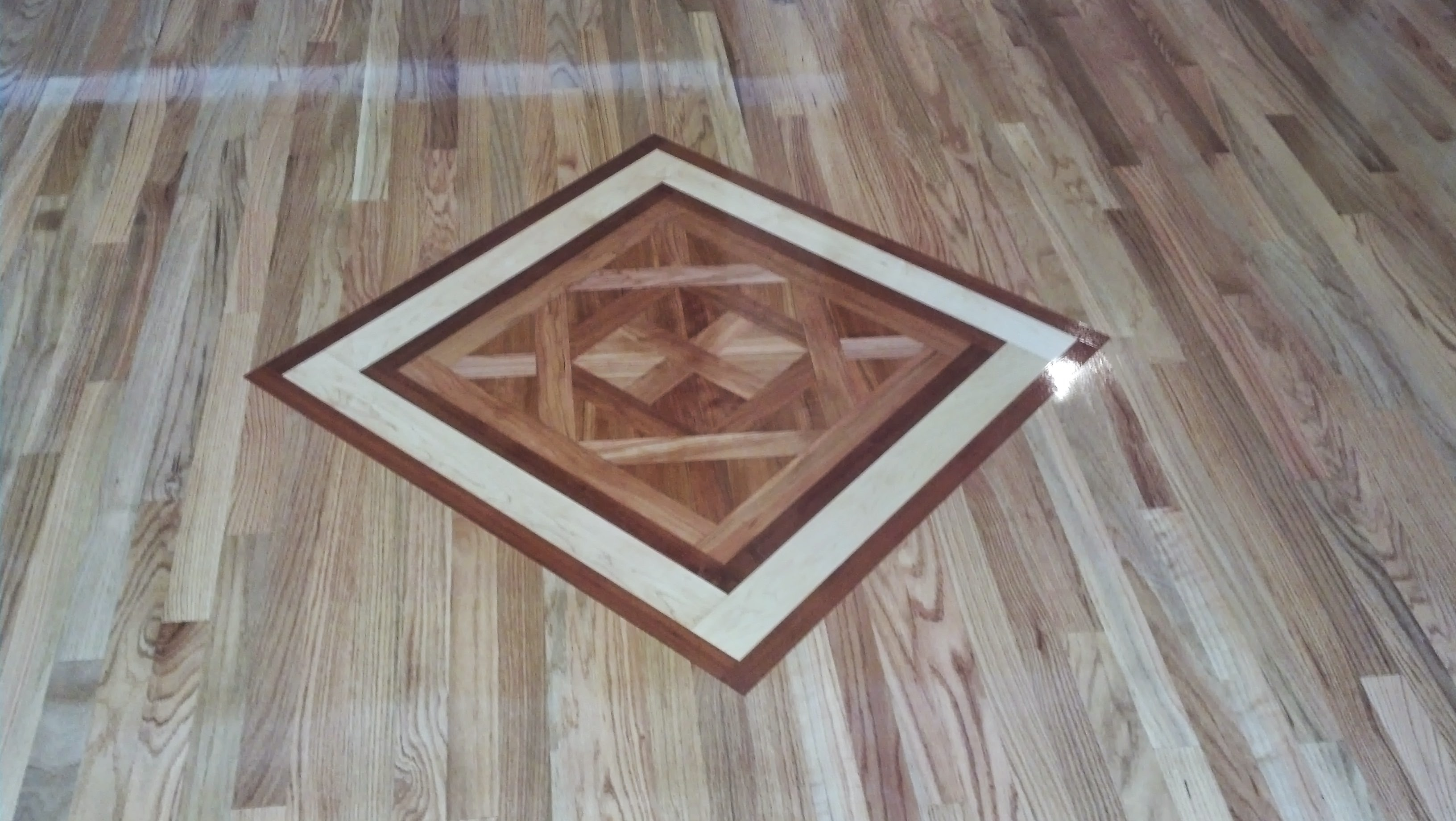 Wood Medallion Inlay