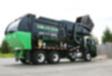 Solterra Recycling Solutions garbage truck
