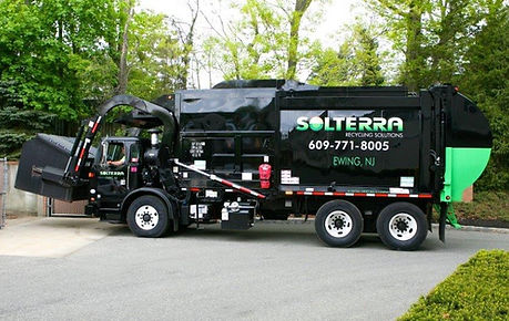 Solterra Recycling Solutions truck