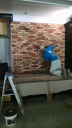 Brick Accent Wall