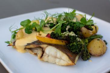 Pan-Fried Sea Bass