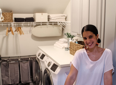 Laundry Room Makeover Under $250