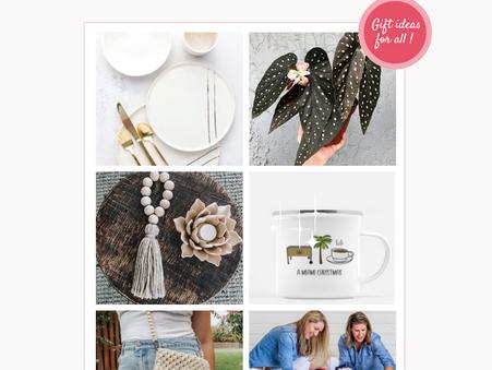 HOLIDAY GIFT GUIDE: Shop Small & Giveback this Holiday Season!