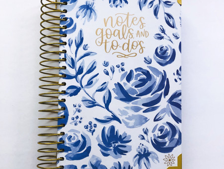 Mom Planning and Meal Prep with Bloom Daily Planners