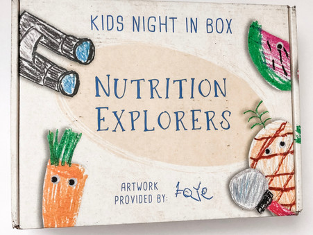 Exploring Nutrition with Kids Night In Box
